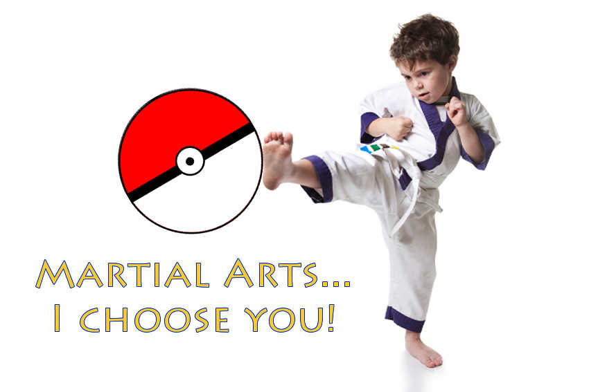 Why Pokemon GO can't beat joining a Martial Arts club